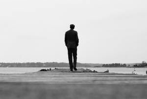 Man walking away 2